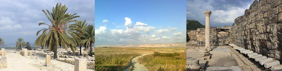 Megiddo König Salomons Ställe Jordantal Jordanien Moabberge Beth Schean antike öffentliche Latrine Stadthügel