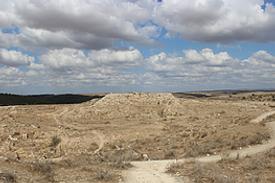 Israel Tel Lachisch Statthalter Palast