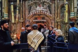 Führung Jerusalem Grabeskirche