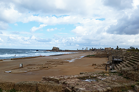 Israel Caesarea antikes Hippodrom