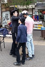 Israel Tel Aviv Carmel Markt orthodoxe Juden