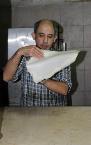Jerusalem, Mutabak-Bäcker