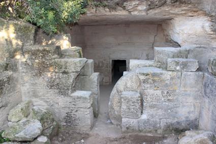 Horbat Midras: Felsengrab aus der Zeit des zweiten Tempels