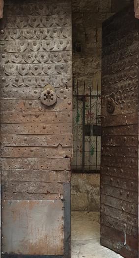 Jerusalem Altstadt, König Feisal Tor: Eingang in die Madrasa