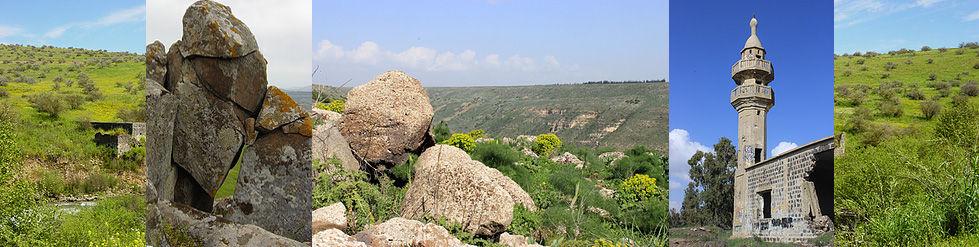 Israel Golan Jordantal Moschee Huschniyah