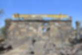 Israel Um el Kanatir Wiederaufbau antike Synagoge