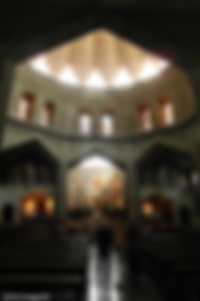 Israel Nazareth Verkündigungsbasilika Altarraum