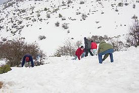 Israel Hermon Schnee