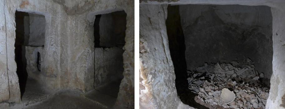 Eisenzeitliche Gräber unter der Saint Etienne Kirche in Jerusalem