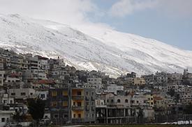 Israel Hermon drusisches Dorf Majdal Schams