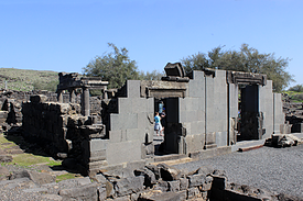Israel Chorazin alte Synagoge