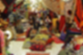 Führung in Jerusalem: orientalischer Stoffladen im Bazar