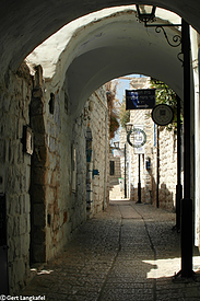Israel Safed Gassen