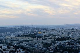 Jerusalem Ausblick Altstadt Felsendom