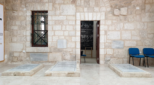 Altstadt Jerusalem: Grab Barka Khan (rechts) und seiner Söhne (links)