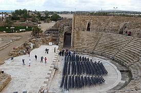 Israel Caesarea antikes Theater