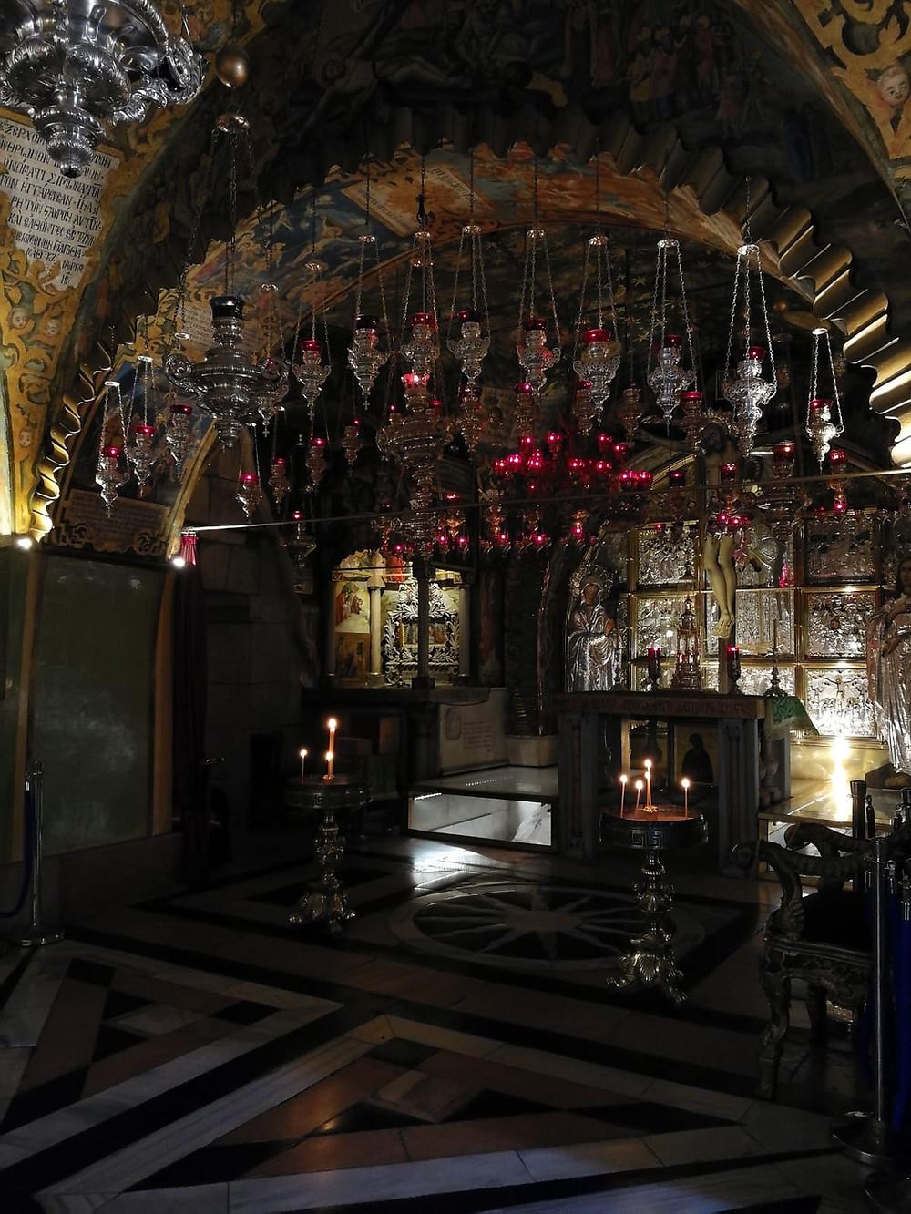 Jerusalem, Grabeskirche mit Golgothakapelle