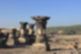 Israel Golan Sussita antike Säulen