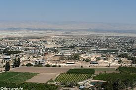 Palästina Ausblick Jericho Jordantal