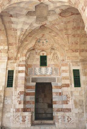 Jerusalem Altstadt, Tempelberg: Eingang in Madrasa