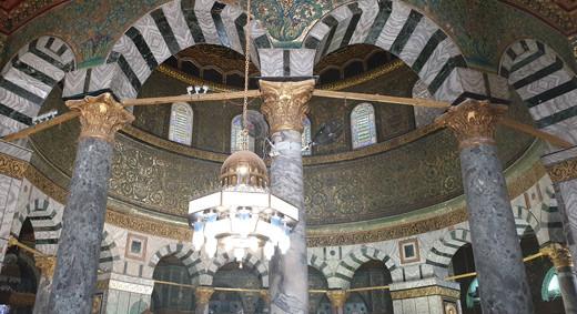 Jerusalem, Felsendom mit unterem Teil der Kuppel