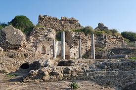 Israel Aschkelon Ruinen byzantinische Kirche