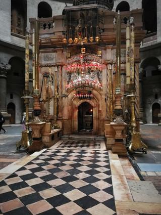 Jerusalem, Grabeskirche, Grab Jesu