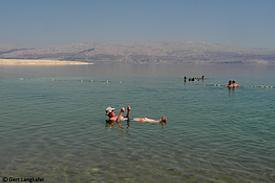 Israel Totes Meer Strand Kalia