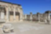 Israel See Genezareth Kapernaum Weiße Synagoge