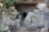 Israel Khirbet Midras Grabhöhle der Zeit des zweiten Tempels