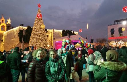 Der Mangerplatz in Bethlehem am Weihnachtsabend. Danke liebe Tanja Hutt für das unvergessliche Abenteuer!