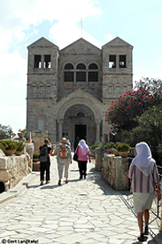 Israel Berg Tabor Transfigurationskirche