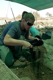 Reiseleiter Israel: Apollonia, Archäologin Lisa Yehuda