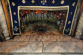 Palästina Bethlehem Geburtskirche Geburtsgrotte
