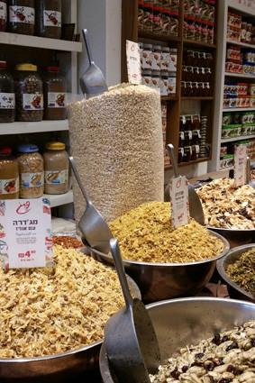 Gewürzladen auf dem Carmelmarkt
