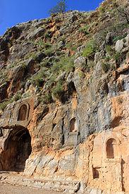 Israel Banias Tempel Zeus Nymphen Nemesis