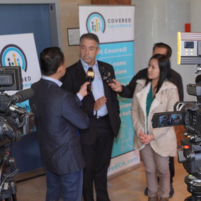 Covered California Emergency Press Conference about Health Insurance