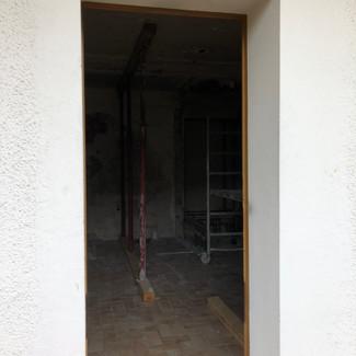 AVANT - Future baie vitrée salon
