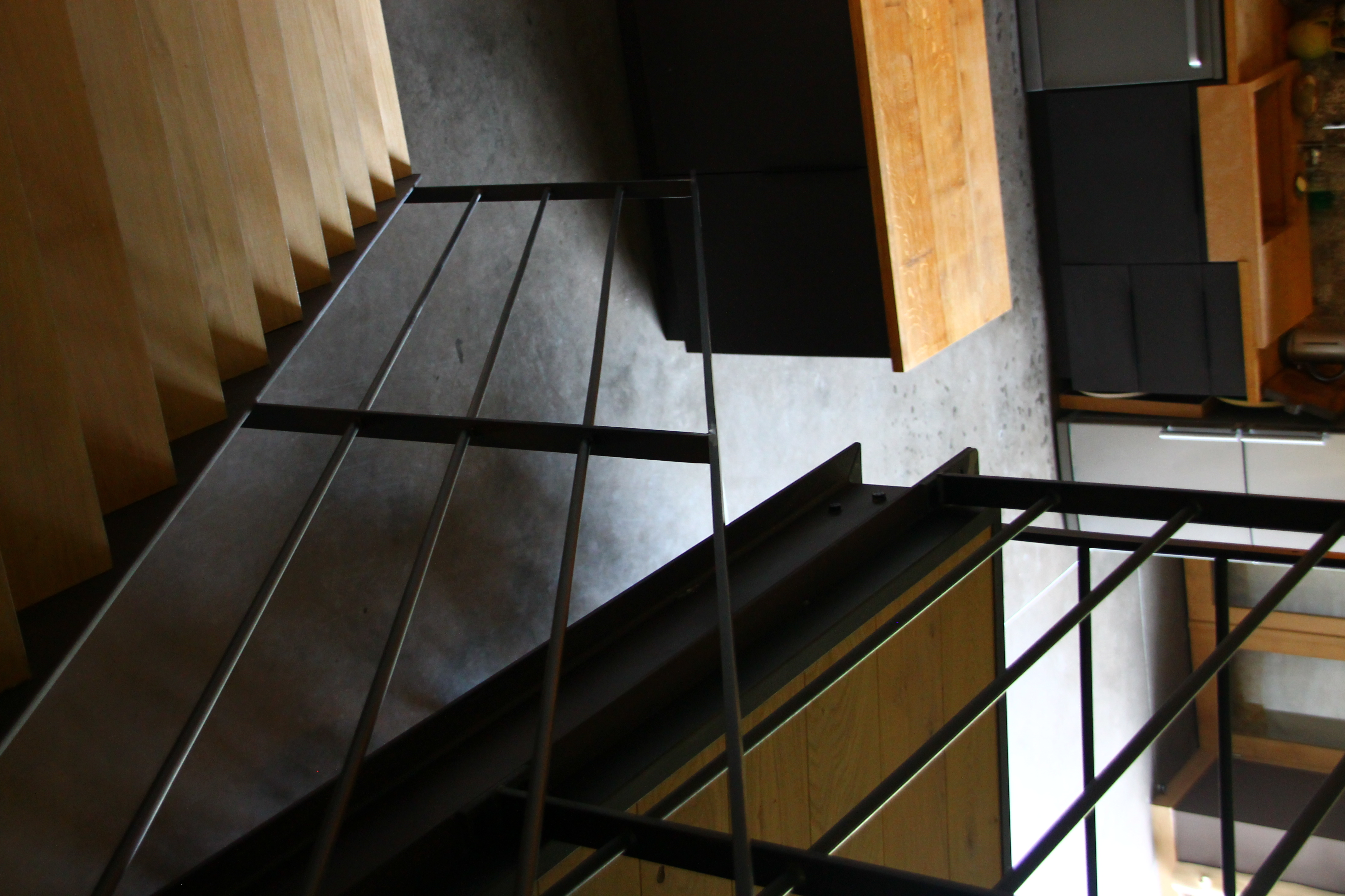 Escalier - Mezzanine