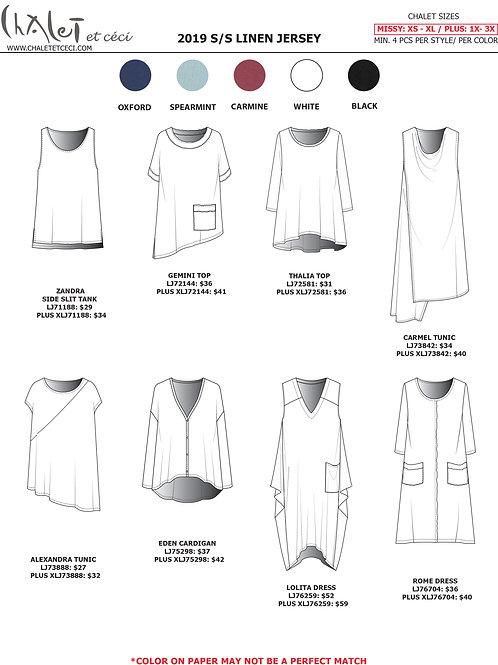 Linen Jersey Linesheet