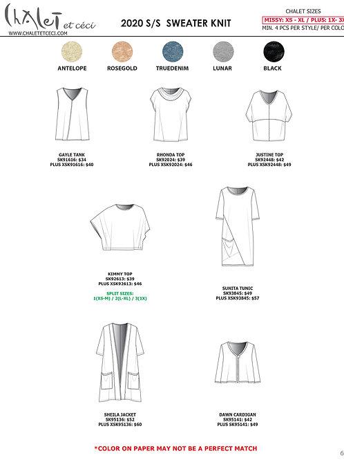 Sweater Knit 2020