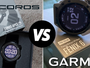 Coros Vs Garmin - 13 Reasons Why I'm Sticking with Garmin