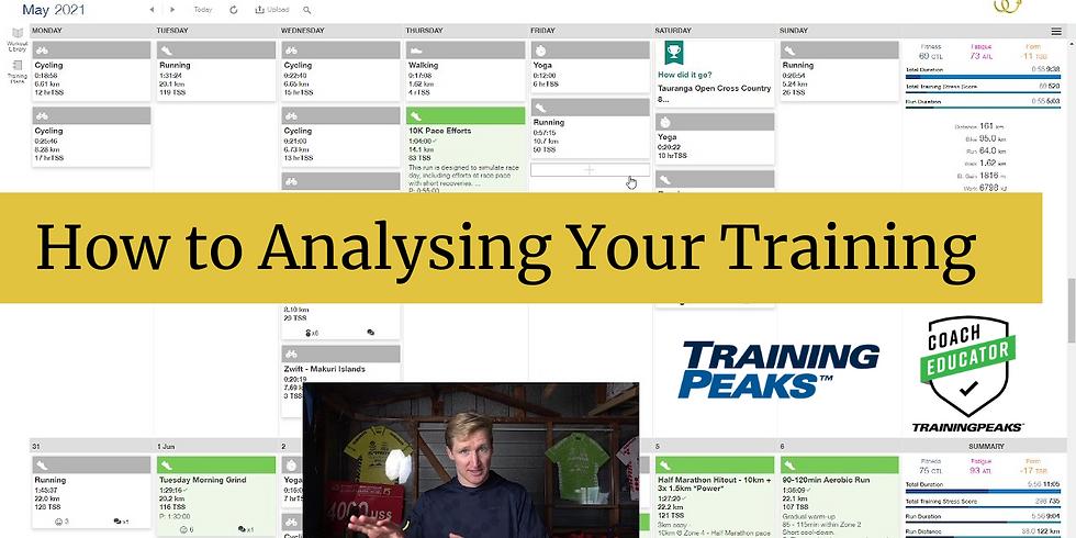 Analysing Your Training with TrainingPeaks
