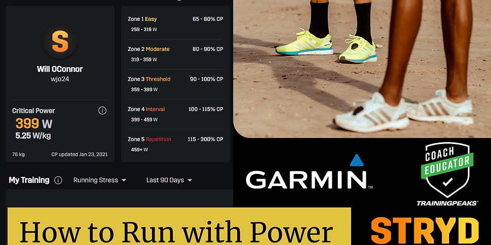 Running with Power - Training, Racing, Tips & Tricks.