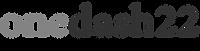 Onedash22 logo grey.png