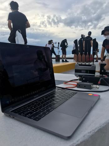 Remote viewing via zoom