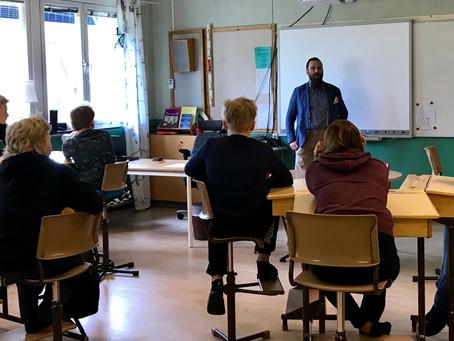 Avstampet kunskapshöjer i skolan