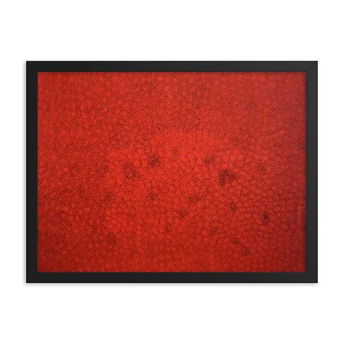 Red Pattern Print