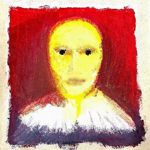 bald yellow man face