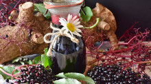Homemade Healthful Elderberry Syrup